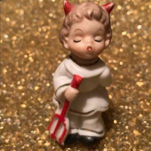 😻 3 for $13 Vintage Halloween Devil Figurine